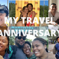 My Travel Anniversary!