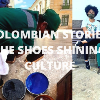COLOMBIAN STORIES: THE SHOES SHINING CULTURE